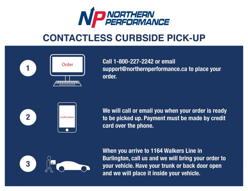 Northern Covid-19 Curbside
